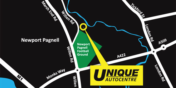 Unique Autocentre Map